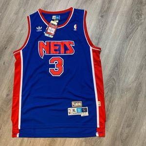 NWT Drazen Petrovic NJ Nets NBA Jersey XL NEW